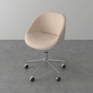 Cadeira Secretária Megan Areia