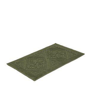 Tapete de Algodão Tivoli Verde 50x80cm