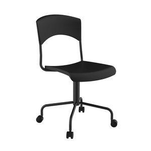 Cadeira Secretária Retrô Preta