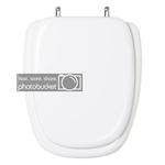 Assento Sanitário Almofadado Fit Branco Para Louça Celite