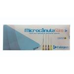 Cânula Ácido Hialurônico Slim 30G 25Mm Caixa 10 Unid