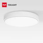 Xiaomi Yeelight 35W 2700K-6500K Nox Round Diamond Smart LED Luz de teto para quarto de casa Sala de estar app Controle remoto por voz