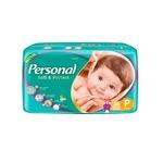 Fralda Descartável Personal Jumbo Soft & Protect Tam. P 324 Tiras