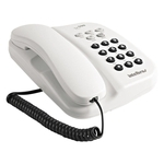 Telefone Tc 500 sem Chave Branco Intelbras