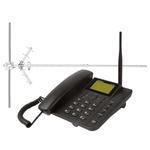 Telefone Celular Fixo Intelbras CFA 4012 GSM de Mesa