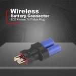 EC5 Feminino Para T Masculino plug Adaptador Wireless Para RC Lipo conector da bateria