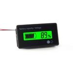 Indicador de tens?o chumbo 6-63V ¨¢cido LCD Digital bateria de l¨ªtio Capacidade