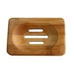 Corpulento-wood Titular Sabão armazenamento Natural de madeira Soap Box Soap curso da cremalheira