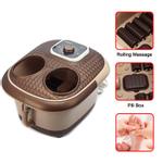 6L Pé Spa Bath Bubbles Therapy Terapia de vibração de rolamento Massager elétrico Wongkuba