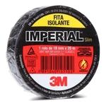 Fita Isolante Imperial 3m 18mm X 20 Metros Preta - 1un