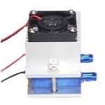 70W DIY refrigeram Kits Termel¨¦trica Peltier ¨¢gua de resfriamento Fan + TEC1-12706 Refrigerador