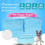 S / M / L / XL Almofadas de treinamento de fraldas para cachorros de estimação Almofada absorvente Fralda descartável para atividades domésticas ao ar livre