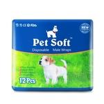 Fraldas Dog pet fralda cão macho cão Teddy fralda absorvente descartável