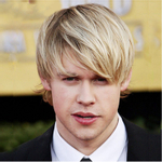 Peruca wig curto liso 28cm 100% orgânica Uso Diário moda masculino loiro franja