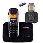 Telefone Sem Fio Intelbras Ts 5150 2 Linhas com 1 Ramal Ts 5121 Intelbras