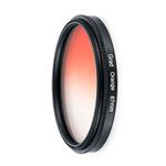 Acess¨®rios para camera laranja Filtro Lens Filtro de protec??o para Canon para Nikon