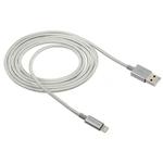 Cabo USB Lightning Intelbras Nylon Trançado 1,5m - Intelbras