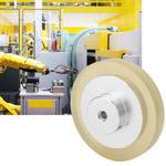 Medidor de medição de roda giratória de borracha antideslizante durável 200/250300 mm
