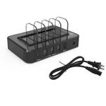 USB QC3.0 5 Porto estação de carregamento sem fio Fast Charge para telefones e tablets [Sour candy]