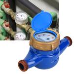 Medidor de água de cobre à prova d'água, G1B com filtro interno Medidor de água de cobre, para residências
