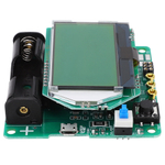 Medidor esr, testador de diodo pnp npn, testador de capacitor de indutância de medidor esr de diodo Capacitor npn