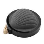 Moda durável e única forma de concha de pedra de ar de aquário, pedra ao ar, para aquários Tubo de ar de 4 mm ou 8 mm para decoração de tanque de peix