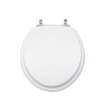 Assento Sanitário Poliéster Spot Branco Para Louça Deca