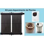 Kit Aquecimento Solar Piscina Até 25m² S/ Capa