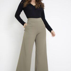 Calca pantalona estampada Viber