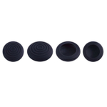 Thumb analógico Grips Cap Silicone Joystick 3D para PlayStation 4 Controlador PS4 co