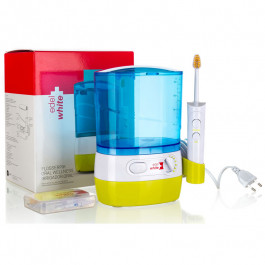Fio Dental de Água Irrigador Oral Flosserpik Edel-White