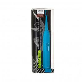 Escova Elétrica MegaSmile Sonic Black Whitening Azul