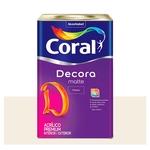 Tinta Coral acrílica Premium Decora Fosca branco 18L