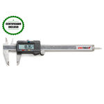 Paquímetro digital com dígitos grandes King Tools 150mm x 0,01mm - 502.150BL Com Certificado de Cali