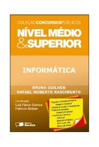 Livro - Informatica - Nivel Medio E Superior - Saraiva
