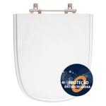 Assento Sanitário Poliéster Anti Bactéria Ibiza Branco para Vaso Incepa Laufen
