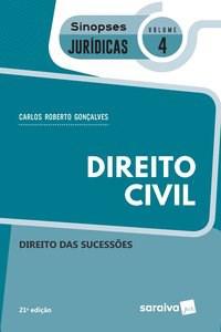 Livro - Sinopses - Direito Civil - Direito Das Sucessões - Volume 4 -
