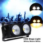Smuxi 200W cob Par Light Audiência Luz Iluminação de palco LED Casamento Strobe Light Effect Stage Lighting Branco Branco quente