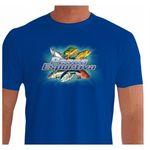 Camisa de Pesca Esportiva Quisty Seis Melhores Peixes Pescaria - Dryfit - Proteção UV G - Camiseta de Pesca Quisty