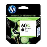 Cartucho HP 60XL de Alto Rendimento Preto