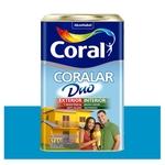 Tinta Coral Standard Coralar Duo acrílica fosca oceano 18L