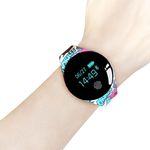 Tela De Toque Da Cor Smartwatch Monitor De Freqüência Cardíaca Relógio Inteligente Esporte Fitn
