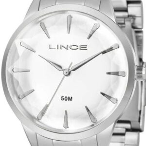 Relógio Lince Feminino - Feminino-Prata