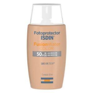 Protetor Solar Facial Isdin -  Fotoprotector Fusion Water Color FPS50+ 50ml - Unissex-Incolor