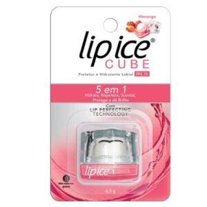 Protetor Labial Lip Ice Cube Fps 15 Morango - Unissex-Incolor
