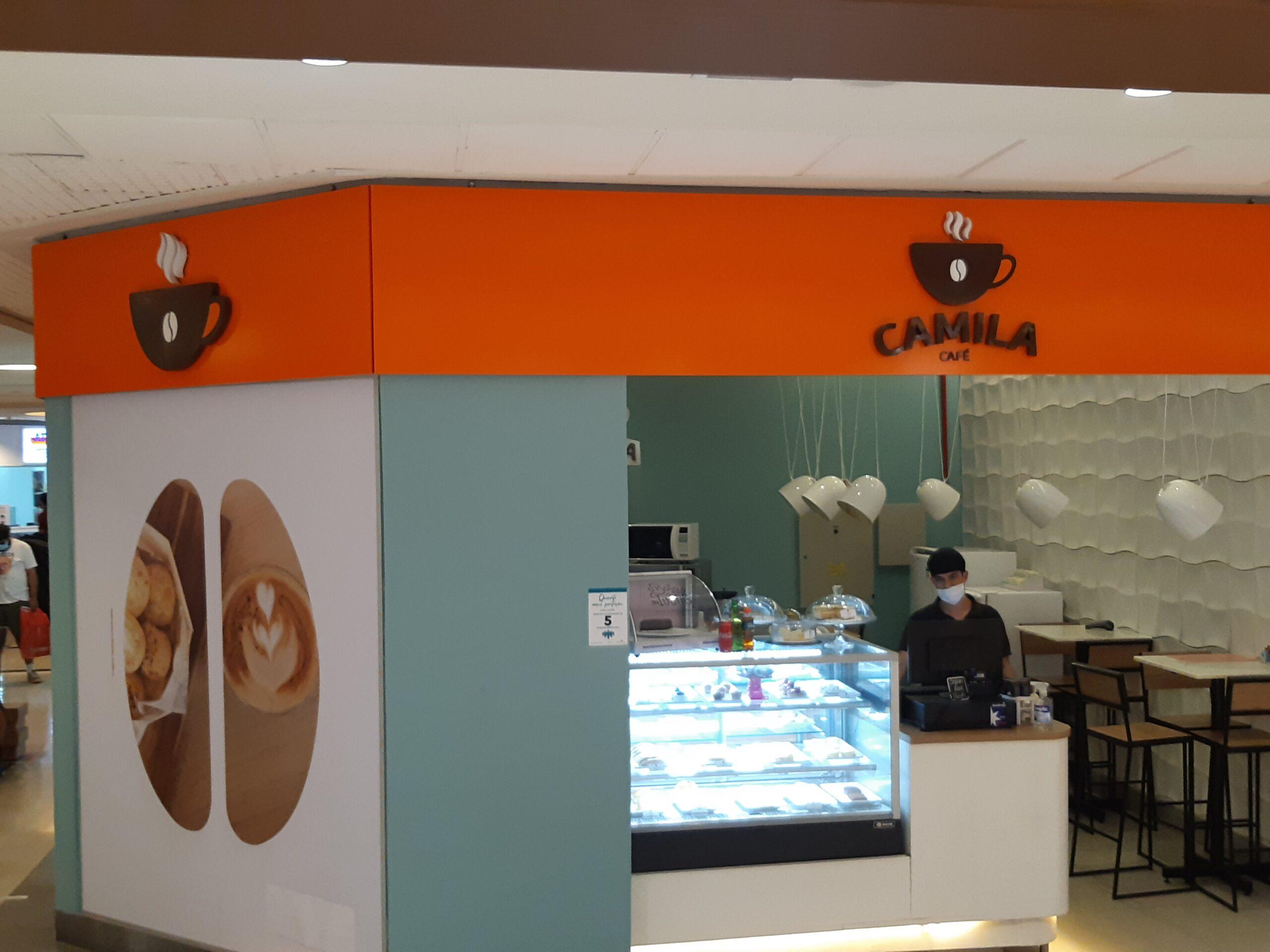 Camila Café do Shopping Conjunto Nacional, 1º Piso