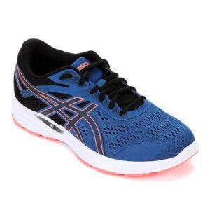 Tênis Asics Gel-Excite 6 Feminino - Feminino-Azul+Preto