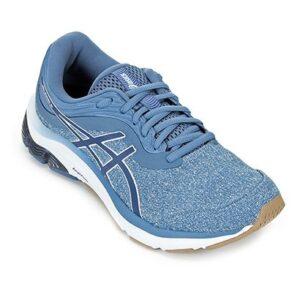 Tênis Asics Gel Pulse 11 MX Feminino - Feminino-Azul+Branco