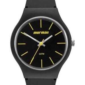 Relógio Mormaii Wave - Unissex-Preto