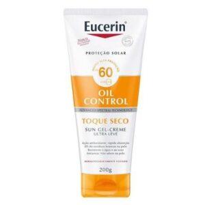 Protetor Solar Corporal Eucerin Sun Toque Seco FPS 60 200ml - Unissex-Incolor